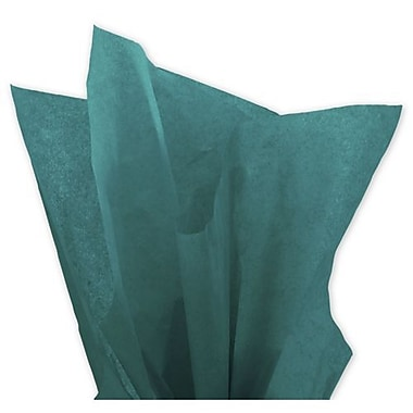 20in. x 30in. Solid Tissue Paper, Teal