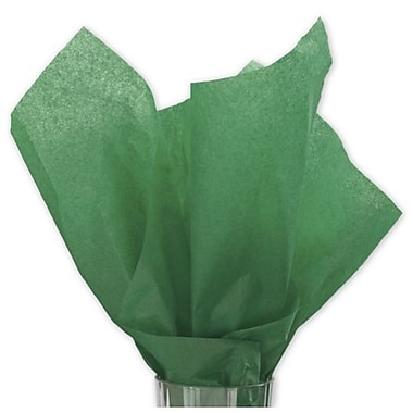20in. x 30in. Solid Tissue Paper, Holiday Green