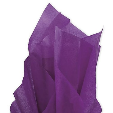 20in. x 30in. Solid Tissue Paper, Plum
