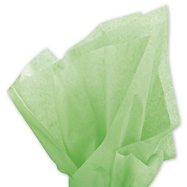20in. x 30in. Solid Tissue Paper, Apple Green