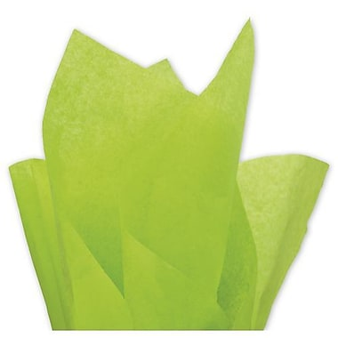 20in. x 30in. Solid Tissue Paper, Citrus Green