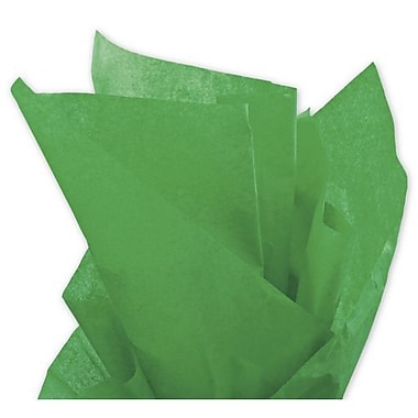 20in. x 30in. Solid Tissue Paper, Kelly Green