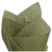 "20"" x 30"" Solid Tissue Paper, Olive Green"
