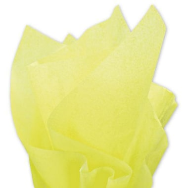 20in. x 30in. Solid Tissue Paper, Limon