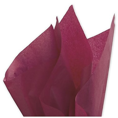 20in. x 30in. Solid Tissue Paper, Claret