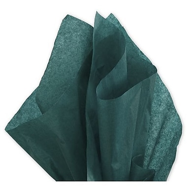 20in. x 30in. Solid Tissue Paper, Hunter Green