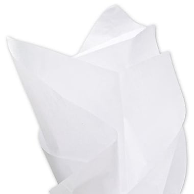 20in. x 30in. Solid Tissue Paper, White