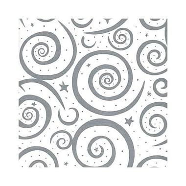 Silver Swirls Tissue Paper, 20