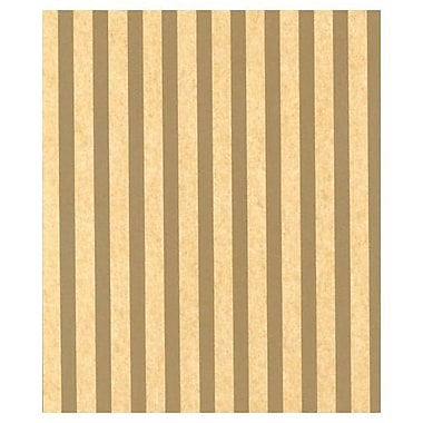 20in. x 30in. Gold Stripe on Sungold Tissue Paper, Kraft