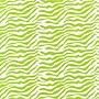 20 x 30 Zebra Tissue Paper, Aloe/White