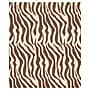 20 x 30 Zebra Tissue Paper, Brown/Black