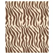 "20"" x 30"" Zebra Tissue Paper, Brown/Black"