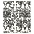 20in. x 30in. Onyx Damask Tissue Paper, French Vanilla