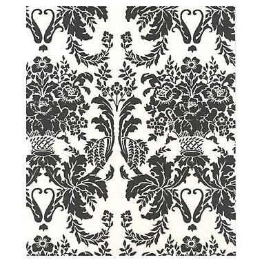 Onyx Damask Tissue Paper, 20