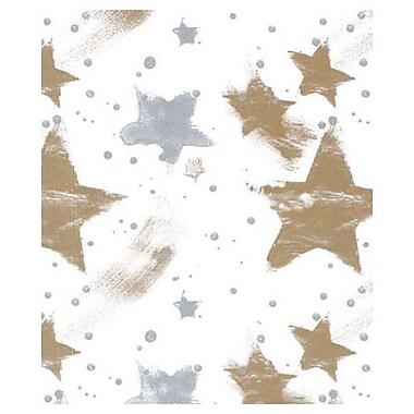Papier de soie célébration, 20 po x 30 po, argenté et doré, 200/paquet