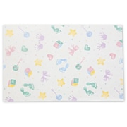 20 x 30 Baby Prints Tissue Paper, White