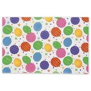 20 x 30 Festive Balloons Tissue Paper, White