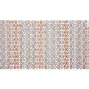 "20"" x 30"" Hip Hop Hoops Tissue Paper, Orange/Turquoise"