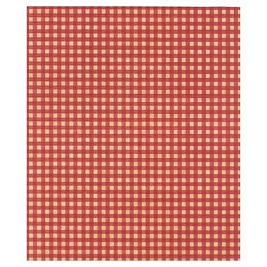 20in. x 30in. Gingham Kraft Tissue Paper, Red