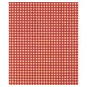 20 x 30 Gingham Kraft Tissue Paper, Red