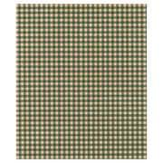 """20"""" x 30"""" Gingham Kraft Tissue Paper, Green"""