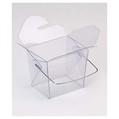 2 3/4in. x 2in. x 2 1/2in. Grooved Event Boxes, Clear
