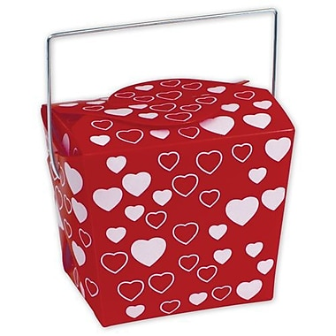 Bags & Bows® 4in. x 3 1/2in. x 4in. Heart Event Boxes