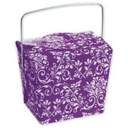 2 1/2 x 2 x 2 3/4 Damask Event Boxes, Purple