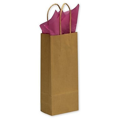 Bags & Bows® 5 1/4in. x 3 1/2in. x 13in. Wine Paper Shoppers