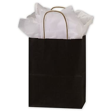Bags & Bows® 8 1/4in. x 4 1/4in. x 10 3/4in. Color on Kraft Shoppers