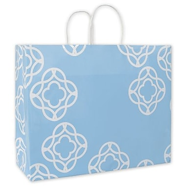 12 1/2in. x 16in. x 6in. Bella Shoppers, Blue
