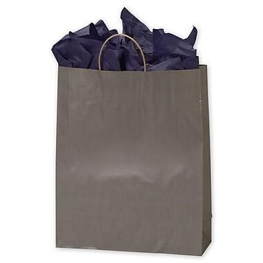 Sacs de magasinage couleur métallique sur kraft, 16 x 6 x 19, 200/paquet