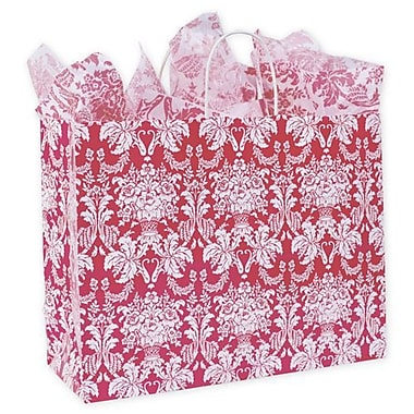 16in. x 6in. x 12 1/2in. Damask Vogue Shoppers, Honeysuckle