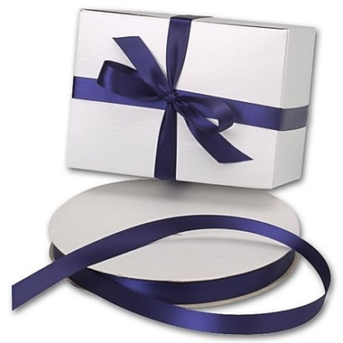 5/8in. x 100 yds. Double Face Satin Ribbon, Navy