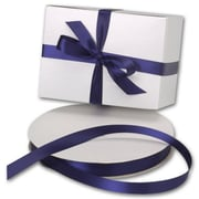 5/8 x 100 yds. Double Face Satin Ribbon, Navy