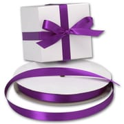 5/8 x 100 yds. Double Face Satin Ribbon, Purple