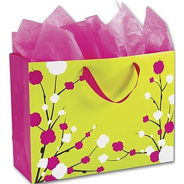 16in. x 6in. x 12in. Candy Willow Euro-Shoppers, Pink