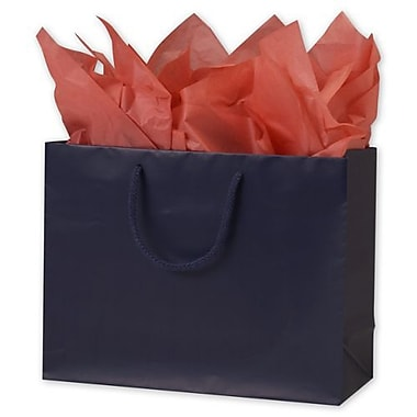 10in. x 13in. x 5in. Matte Laminated Euro-Shoppers, Navy