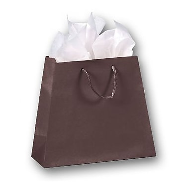 Matte Laminated Inverted Trapezoid Euro-Shoppers, 8 3/4in. x 7 1/2in. - 10in. x 4in.
