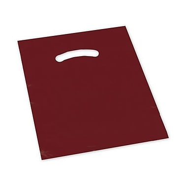 BG Die-Cut Handle Bags, 15in. x 18in. + 4in.