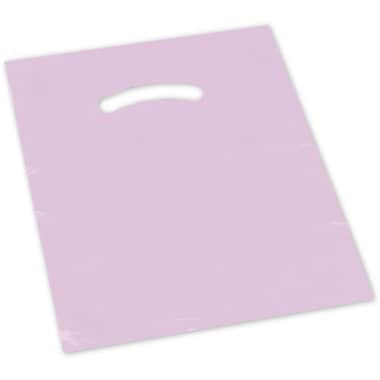 20in. x 20in. + 5in. BG Die-Cut Handle Bags, Mauve
