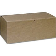 4 x 5 x 10 One-Piece Gift Boxes, Kraft
