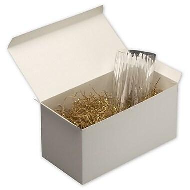 Boîtes-cadeaux monoblocs, 6 x 6 x 12 (po), blanc, 50/paquet