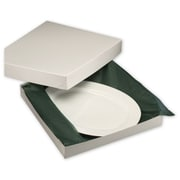 14 x 14 x 2 Two-Piece Gift Boxes, White
