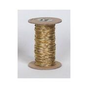 Fil élastique sur bobine, 50 verges, doré, chaque