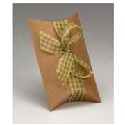 """Kraft Paper 2""""H x 5.5""""W x 7""""L Pillow Boxes, Brown, 250/Pack"""
