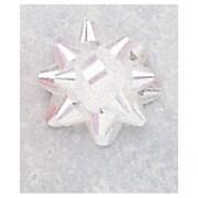"Jeweler's Star Bows, 1-1/4"", Iridescent, 300/Pack"