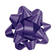 "2 3/4"" Splendorette® Star Bows, Purple"