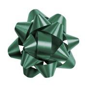 """2 3/4"""" Splendorette® Star Bows, Hunter Green"""