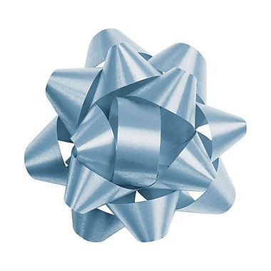 2 3/4in. Splendorette® Star Bows, Light Blue